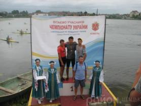 В центрі - чемпіон України Дмитро Озимок.