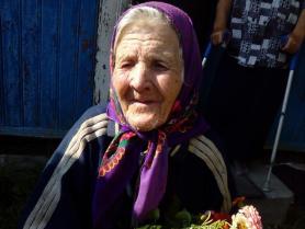 Єва Наумич відзначила 90-й день народження