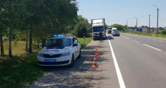 На Волині поліція контролює правила пересування вантажівок