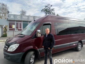 Сергій Приймук має у власності 11 автобусів і успішно здійснює міжобласні рейси