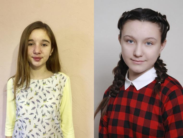 Емілія Ковш і Діана Жур