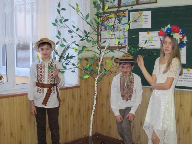 В школі села Підманове відбулися заходи до річниці з дня народження Лесі Українки