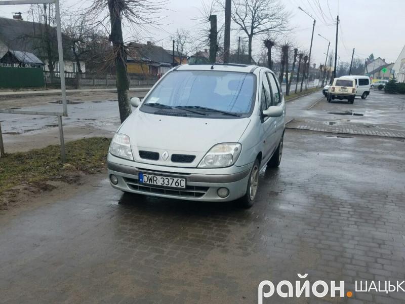 Автохам по вул. Степана Шковороди в Шацьку