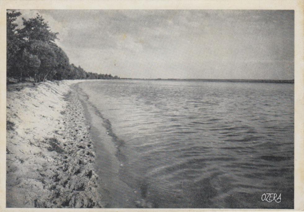 Озеро Світязь. Фотограф Ян Булгак, фото зроблено у 1937-1939 роках.