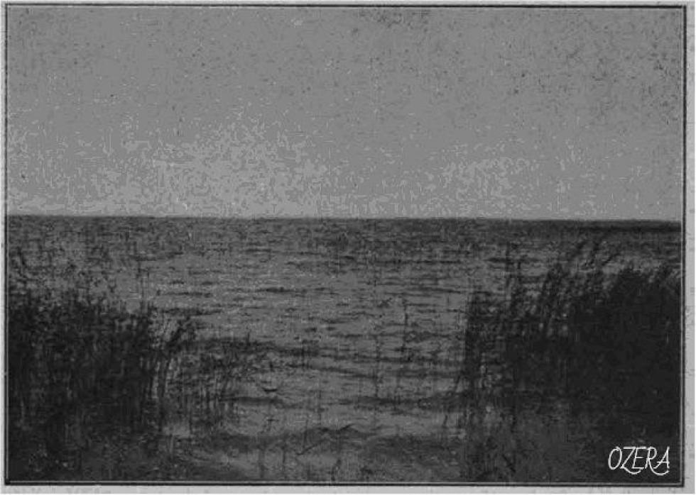 Озеро Світязь (вигляд з острова)  Фотограф Болеслав Данейко, 1911 рік.