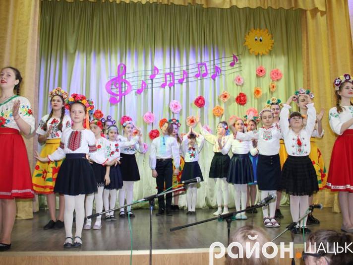 «Весняний концерт» Шацького БДЮТ