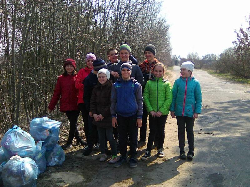 Загін «Милосердя» активно долучився до Всеукраїнської акції «За чисте довкілля»