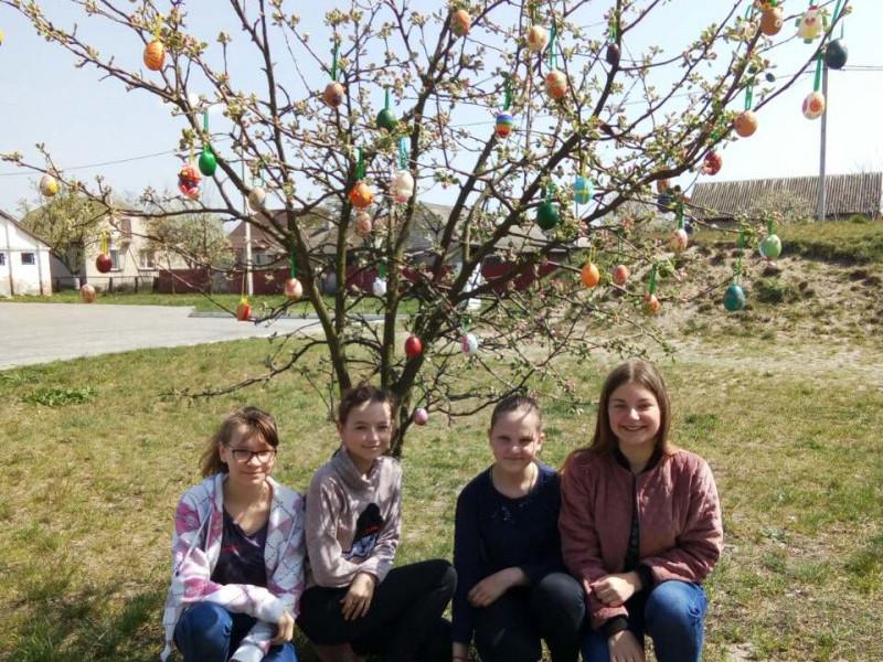 Великоднє деревце - гордість школярів