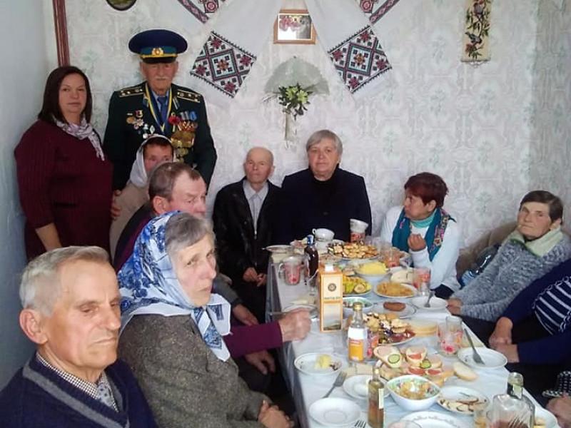 У Територіальному центрі Шацька організували свято для ветеранів і дітей війни.