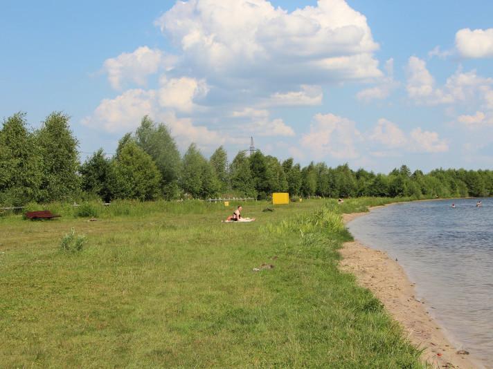 Пляж біля озера Люцимер планують окультурити
