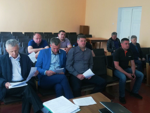 Засідання виконкому селищної ради
