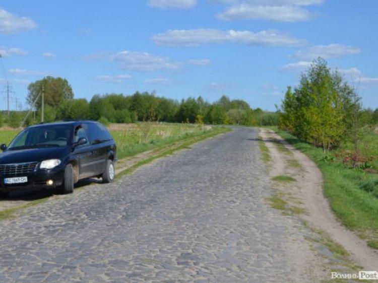 Дорога Шацьк-Вілиця-Любохини