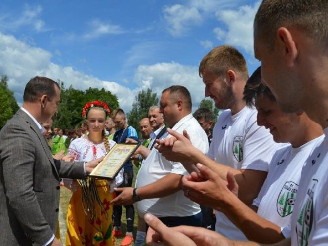 В Шацьку відбулися фінальні ігри чемпіонату з футболу серед лісівників Волині.