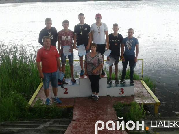 Срібні призери Олег Дударчук та Олександр Ягодинець