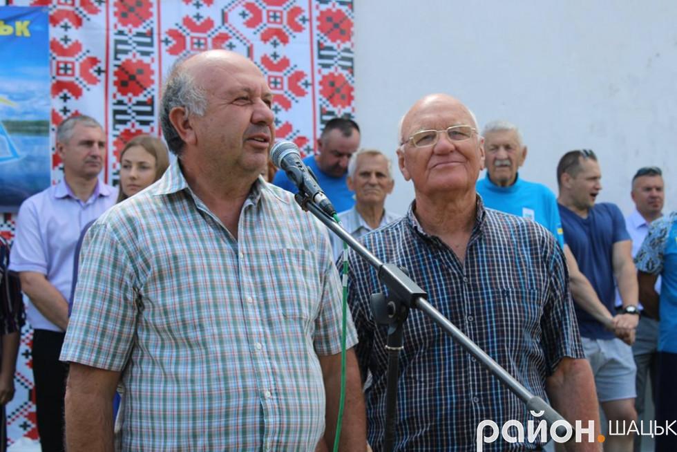 Олег Камерилов і Тарас Шевченко