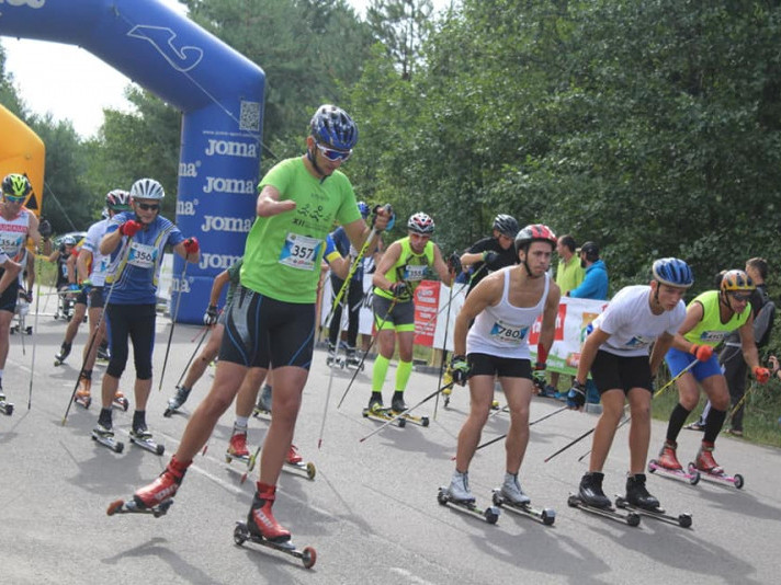Стартують перегони на лижеролерах