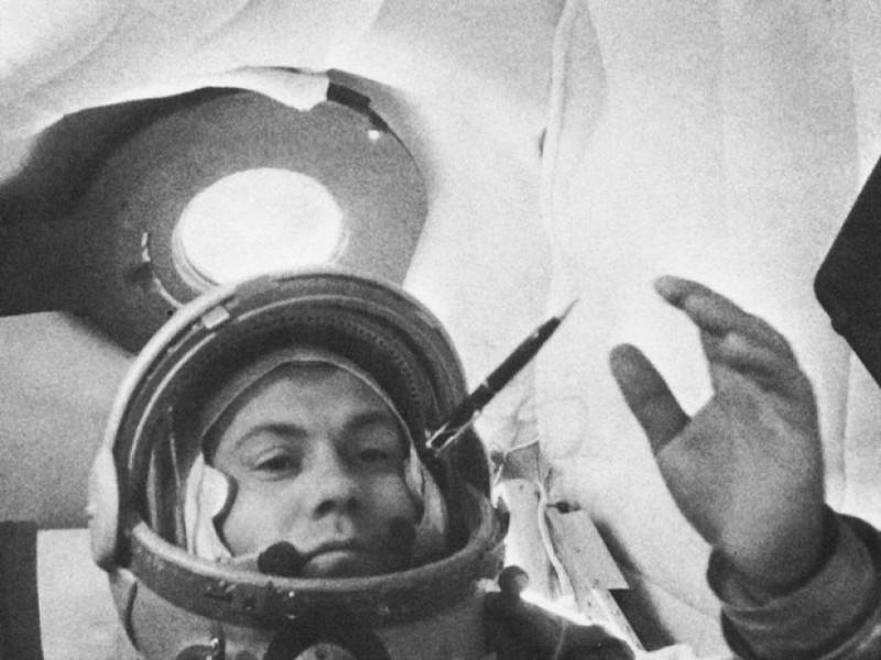 Павло Попович - світлина з космосу