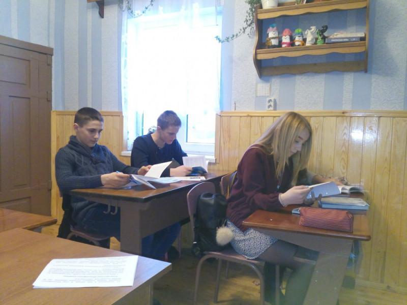 В одному з класів Положівської школи-філії