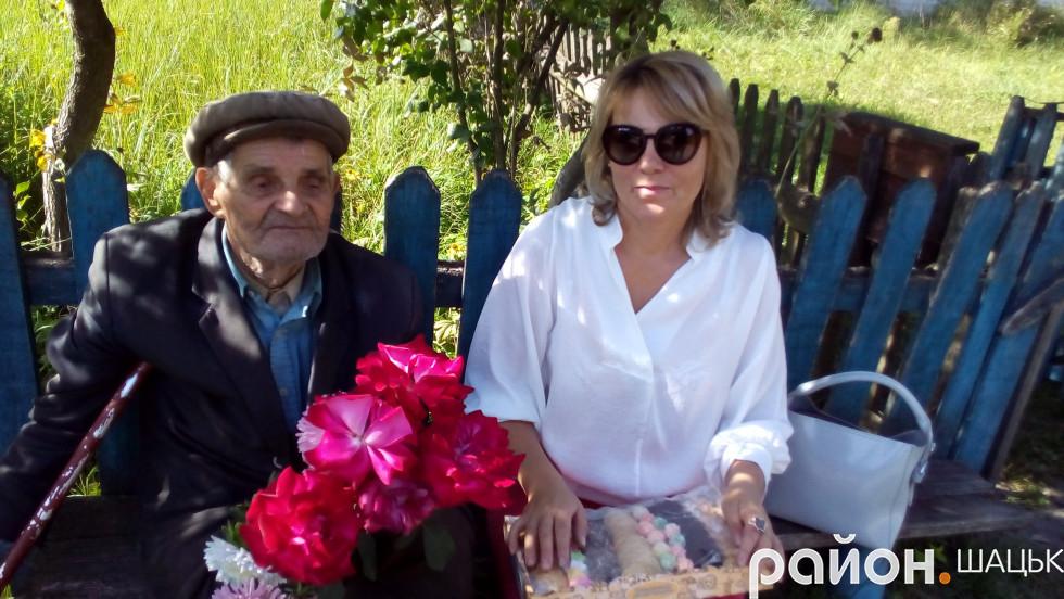 З Ніною Корець, в.о. директора Шацького БДЮТ