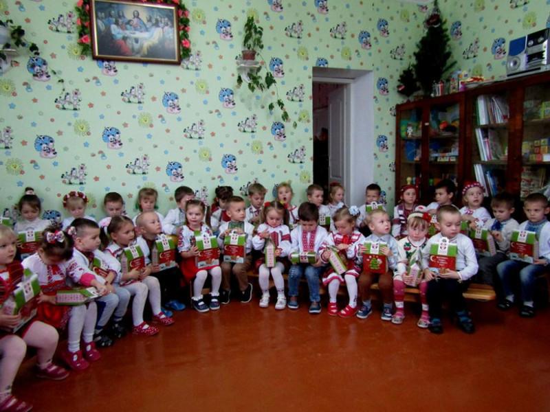 На святі у Пульмівському дитсадку