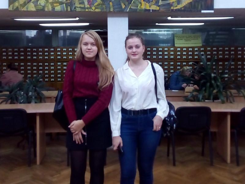 Ангеліна Зубач та Наталія Цюпящук