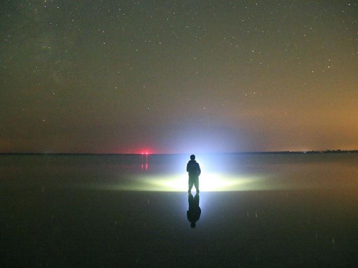 Зоряне небо над озером Пулемецьким