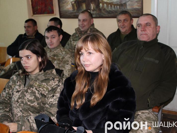 У Шацьку відзначили День Збройних cил України.