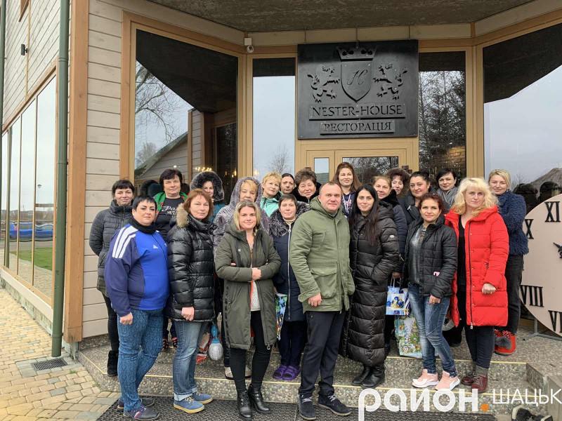 Дружини і матері волинських воїнів, які загинули під час воєнних дій на Сході України, відпочили в маєткуNester-House