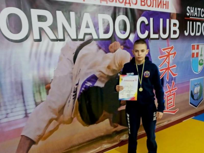 Шацький дзюдоїст став переможцем у чемпіонаті Волині з дзюдо