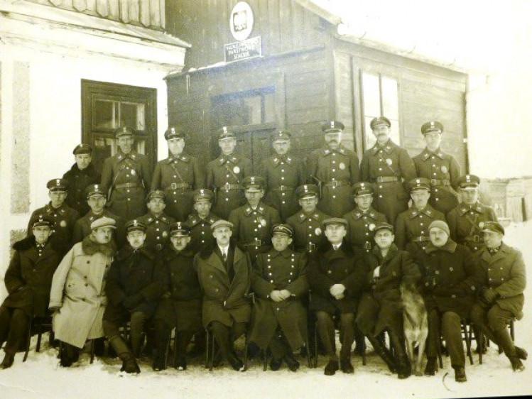 Працівники Шацького лісництва, 1932 рік