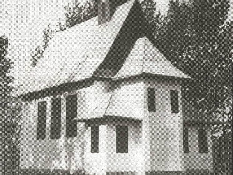 У соцмережах опублікували ретро-фото римо-католицького костелу в Шацьку
