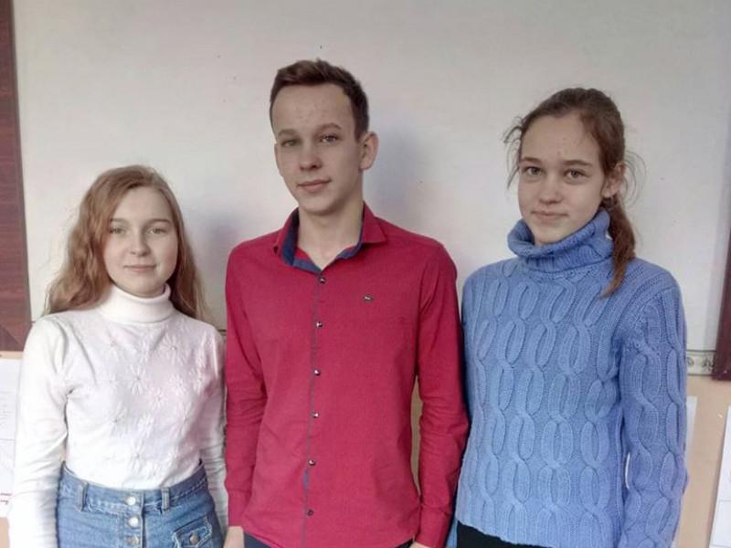 Учні Піщанської школи стали призерами обласних олімпіад