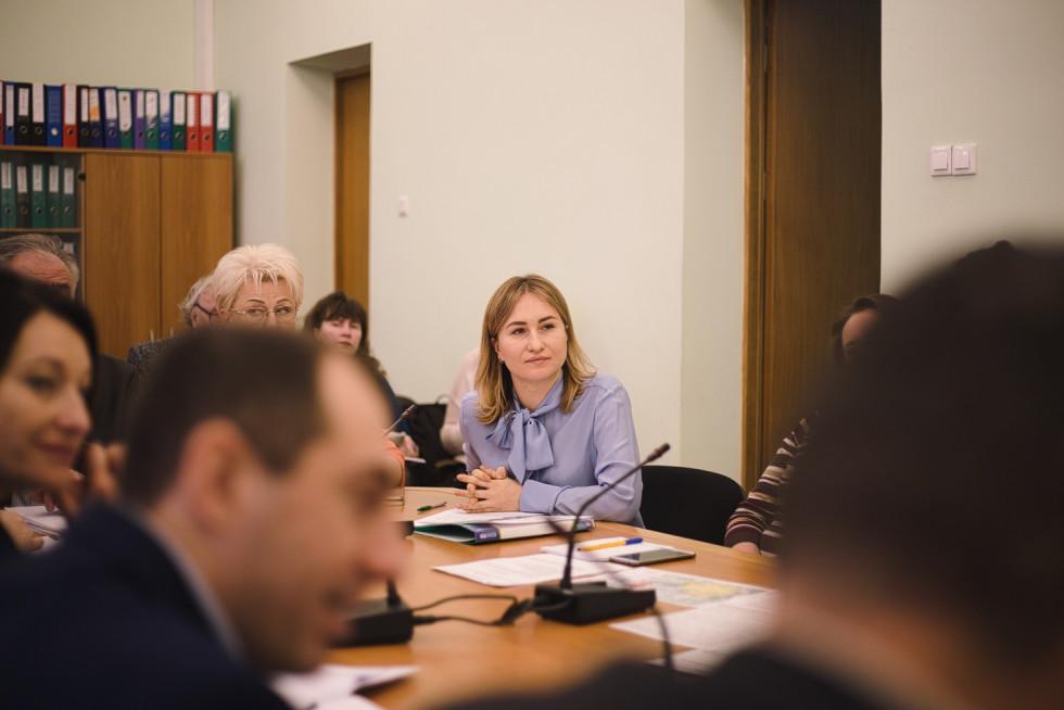 Марія Христецькапрезентувала присутнім стратегію ренатуралізації озер