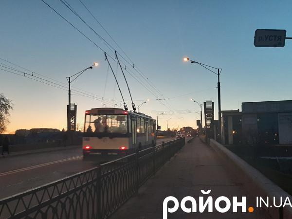 Тролейбус у Рівному