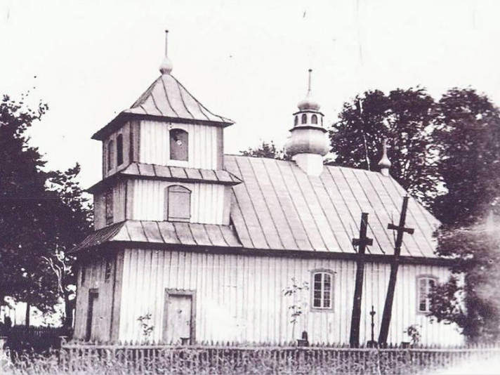 1982 рік, церква перед демонтуванням
