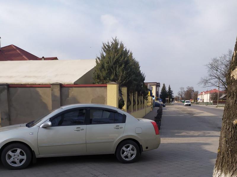 Автохам у центрі Шацька