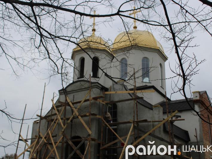 Свято-Михайлівський храм ПЦУ смт Шацьк