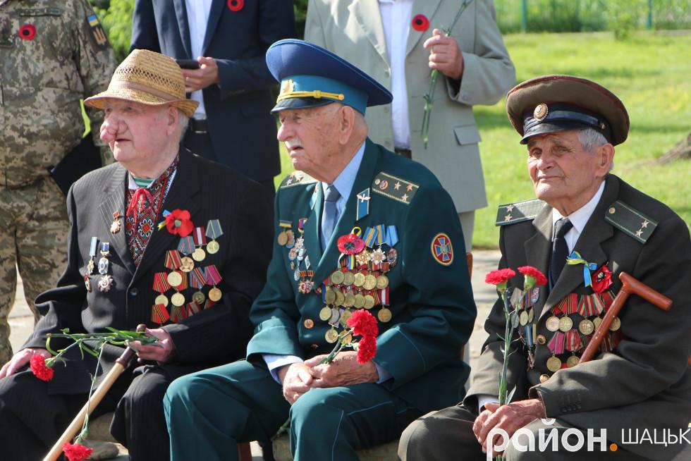 Минулого року в День перемоги фронтовиків було ще троє...