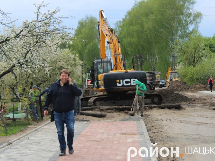 Богдан Москаль особисто контролює будівництво нової дороги