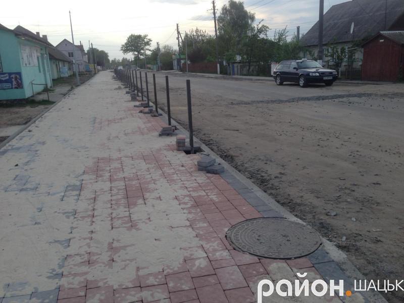 По вулиці Степана Шковороди в смт Шацьк перекриють рух транспорту.