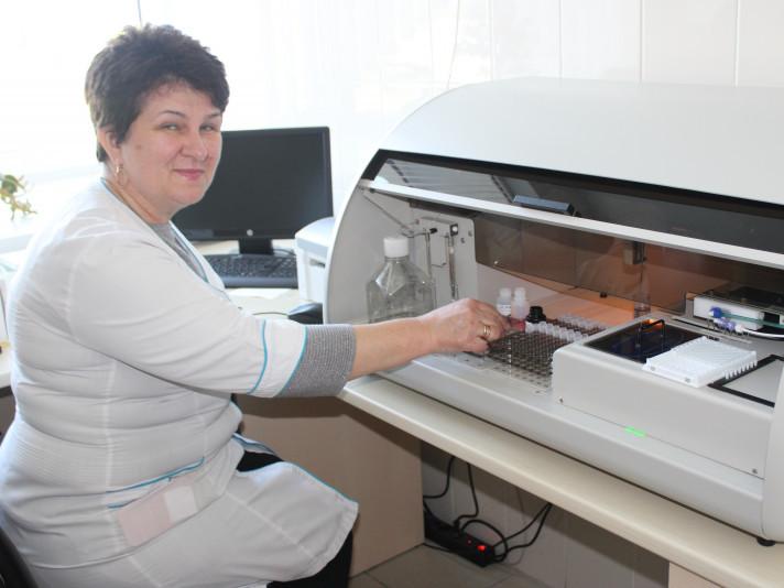 У Любомльській лікарні тестуватимуть на Covid-19 методом ІФА