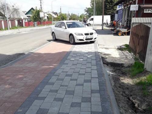 Автохам по вулиці Степана Шковороди