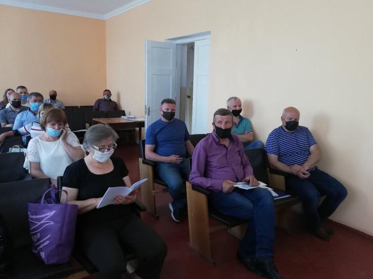 Чергове засідання сесії Шацької селищної ради