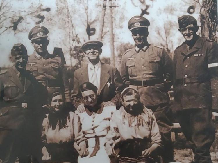 Жительки Шацька серед нацистів