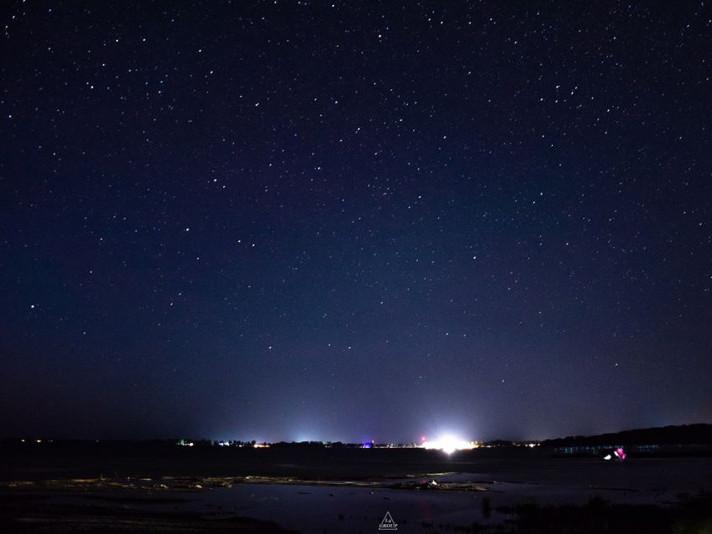 Шацький фотограф показав зоряне небо над Світязем