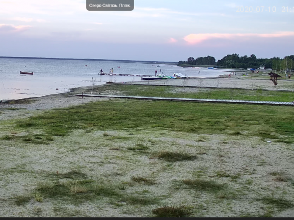 Що робиться на світязьких пляжах, можна подивитись онлайн