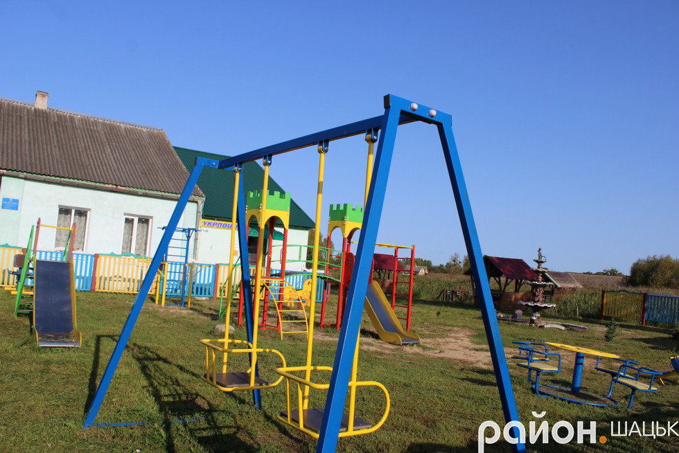 Майданчик - улюблене місце відпочинку для дітей
