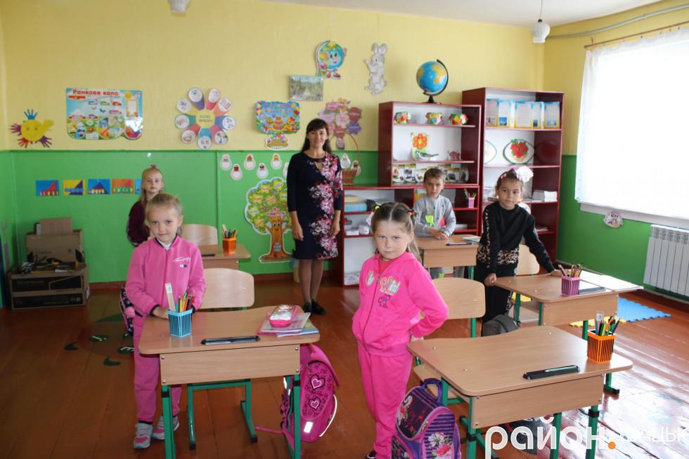 Наймолодші учні Пулемецької школи