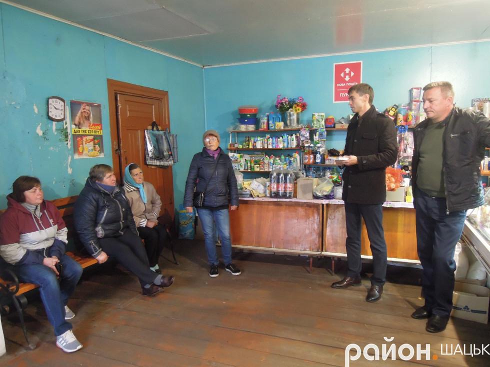 Зустріч з виборцями села Положеве