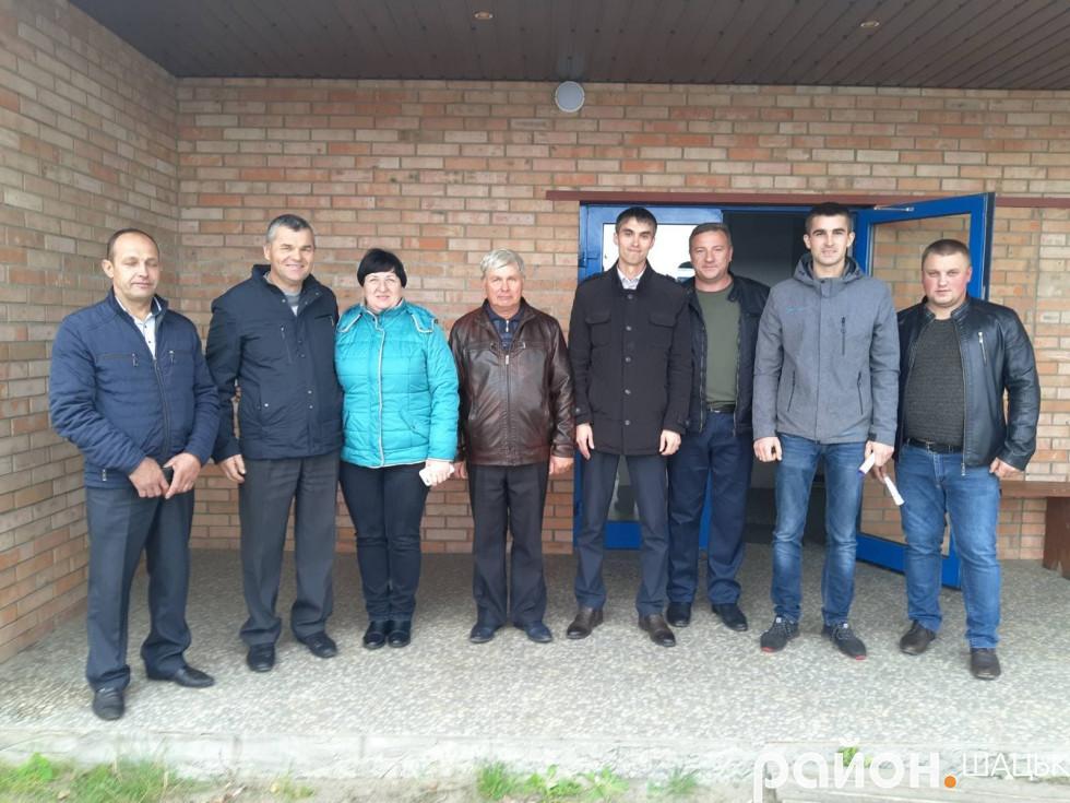 Відбувся діалог з жителями Прип'ятського старостинського округу